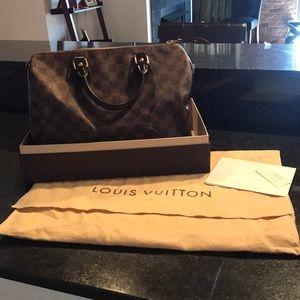 Louis Vuitton Damier Speedy 30 handbag